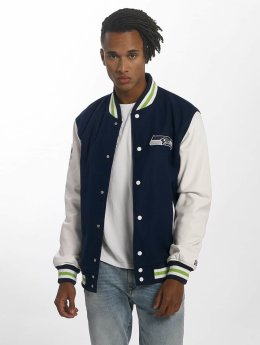 New Era Veste mi-saison légère Team Apparel Varsity Seattle Seahawks bleu