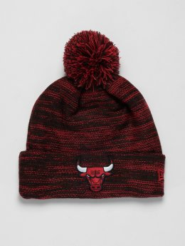 New Era Winter Hat NBA Cuff Chicago Bulls red