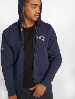 New Era Zip Hoodie NFL Team New England Patriots blå