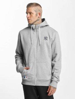 New Era Zip Hoodie NY Yankees grau