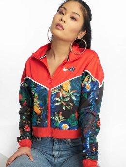 Nike Демисезонная куртка Sportswear красный