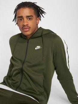 Nike Демисезонная куртка Sportswear оливковый