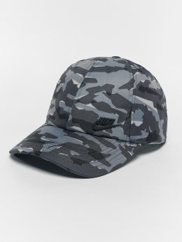 Nike Кепка с застёжкой NSW H86 Metal серый