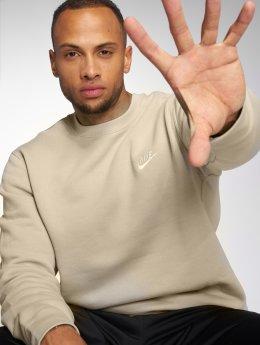 Nike Пуловер NSW FLeece Club бежевый