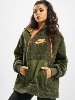 Nike Пуловер Sportswear  оливковый