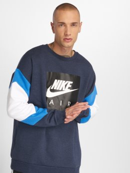 Nike Пуловер Stripe синий
