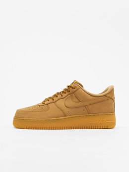 Nike Сникеры Air Force 1 '07 Wb коричневый