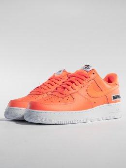 Nike Сникеры Air Force 1 '07 Lv8 Jdi Leather оранжевый