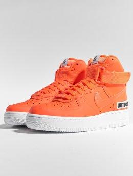 Nike Сникеры Air Force 1 High Lx оранжевый