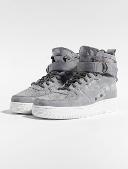 Nike Сникеры Sf Air Force 1 Mid серый