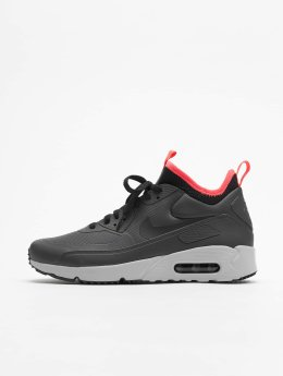Nike Сникеры Air Max 90 Ultra Mid серый