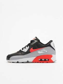 Nike Сникеры Air Max 90 Leather (GS) серый