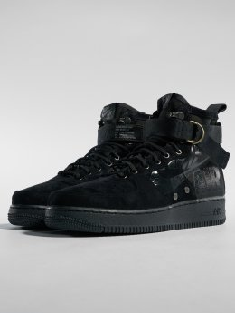 Nike Сникеры Sf Air Force 1 Mid черный