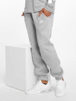 Nike Спортивные брюки NSW CF FLC Club серый