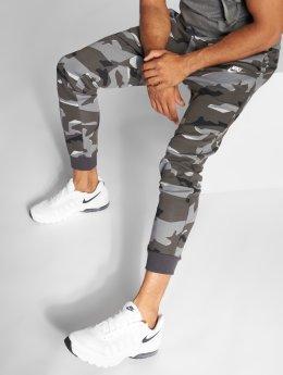 Nike Спортивные брюки Camo серый