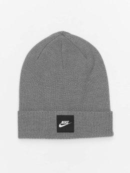Nike шляпа Futura Knit серый