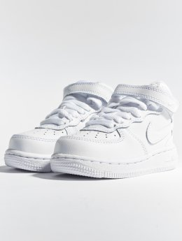 Nike Baskets Air Force 1 Mid TD blanc