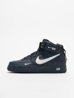 Nike Baskets Air Force 1 Mid '07 LV8 bleu