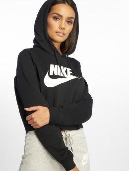 Nike Bluzy z kapturem Rally czarny