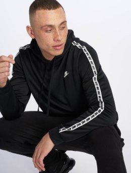 Nike Bluzy z kapturem Poly czarny