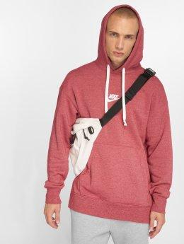 Nike Bluzy z kapturem Sportswear Heritage czerwony