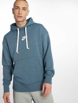 Nike Bluzy z kapturem Sportswear Heritage niebieski