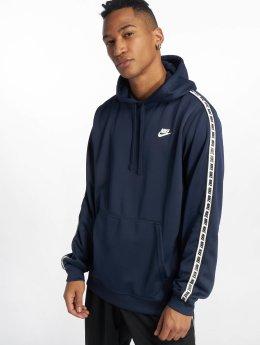 Nike Bluzy z kapturem Sportswear Poly niebieski