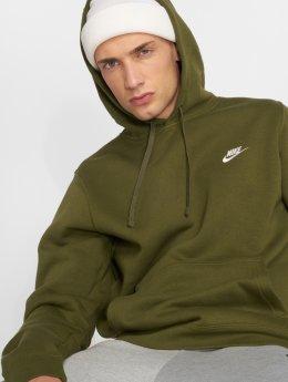 Nike Bluzy z kapturem Sportswear oliwkowy