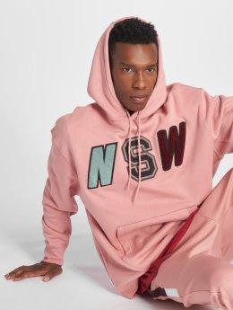 Nike Bluzy z kapturem NSW pink