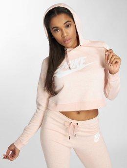 Nike Bluzy z kapturem Storm pink