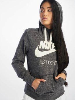 Nike Bluzy z kapturem Gym Vintage szary