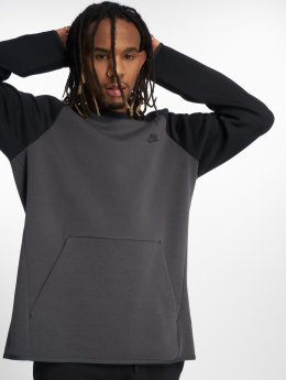 Nike Camiseta de manga larga Tech Fleece gris