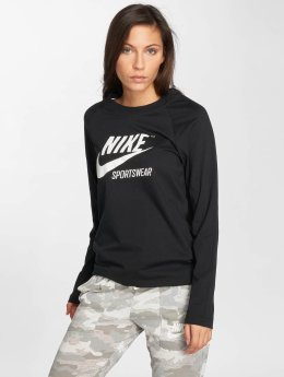 Nike Camiseta de manga larga Sportswear negro