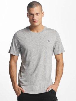 Nike NSW Club T-Shirt Dark Grey Heather/Cool Grey