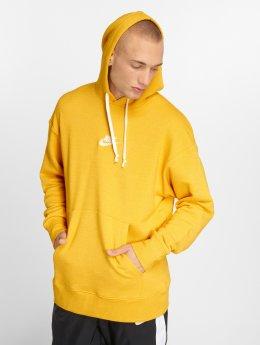 Nike Felpa con cappuccio Heritage giallo