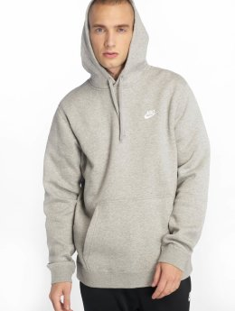 Nike Felpa con cappuccio Sportswear grigio