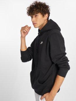 Nike Felpa con cappuccio Sportswear nero