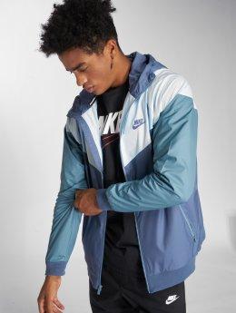 Nike Giacca Mezza Stagione Sportswear Windrunner Transition blu