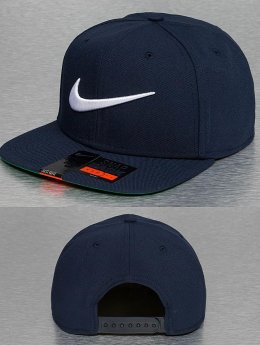 Nike Gorra Snapback NSW Swoosh Pro azul