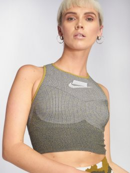 Nike Hihattomat paidat Sportswear harmaa