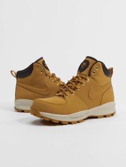 Nike Holínky Manoa Leather hnědý