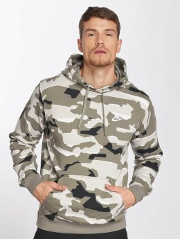 Nike Hoodie Sportswear Club Fit Camo camouflage