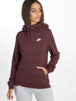 Nike Hoodie Funnel/Neck röd