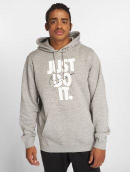 Nike Hoodies Sportswear šedá