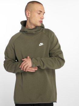 Nike Hoodies Sportswear Tech olivový