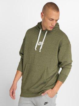 Nike Hoodies Sportswear Heritage olivový