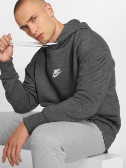 Nike Hoody Sportswear Heritage grijs