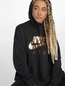 Nike Hoody Shine schwarz