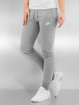 Nike joggingbroek W NSW FLC Tight grijs