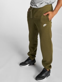 Nike Jogginghose NSW CF FLC olive